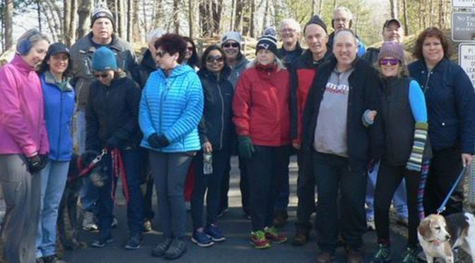 April SNETT Trail Walk with FBRTC
